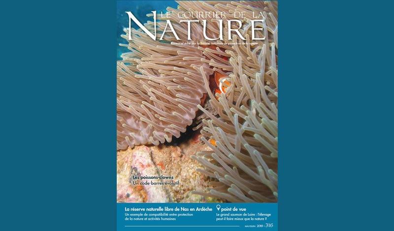 Courrier de la nature - n°316 - couverture