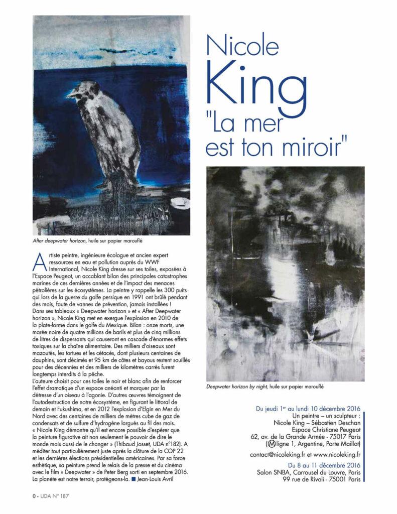 Univers des Arts - N°187 page 1