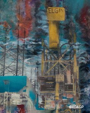 Explosion d'Elgin (Mer du Nord)