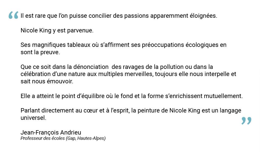Texte de Jean-François Andrieu