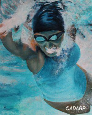 La joie de nager