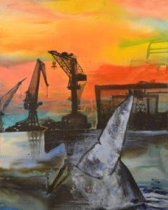 Les grues et la baleine