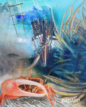 Offshore profond 2 ou Le crabe, le riser pétrolier & les posidonies
