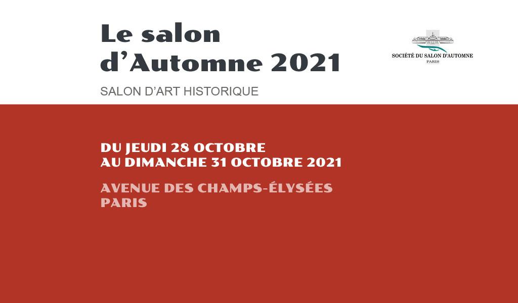 Salon d'automne de Paris - 2021