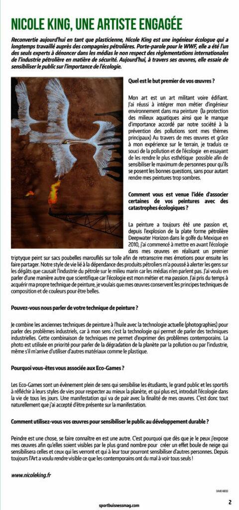 Sport Business ecogame N°46