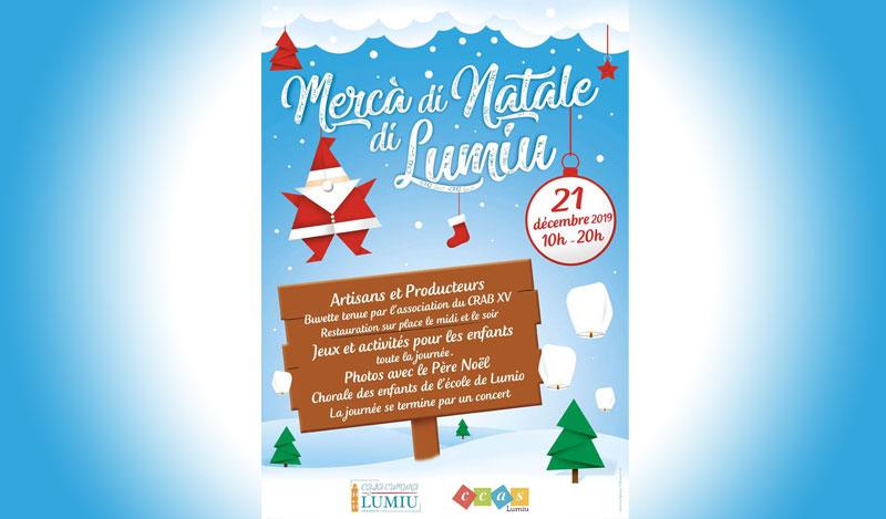 Exposition Marché de Noël de Lumio (2019)