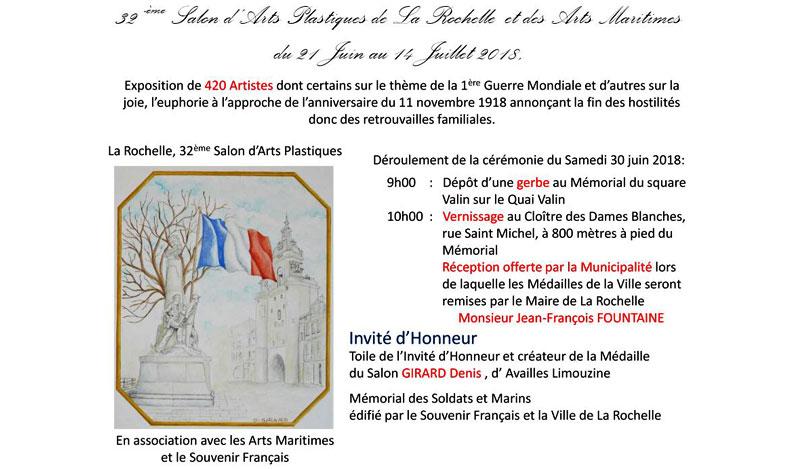 La Rochelle 32eme Salon