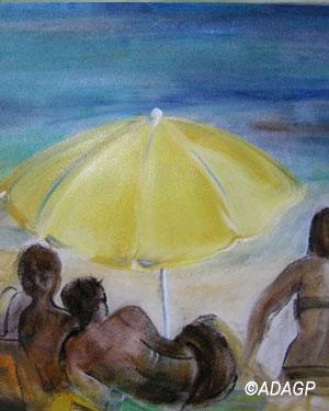 Le Parasol jaune