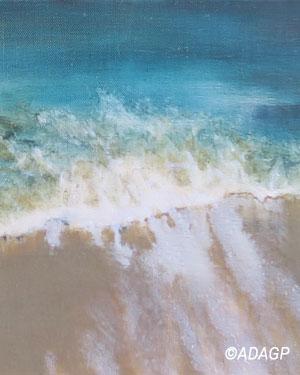 Reflux (vague sur le sable)