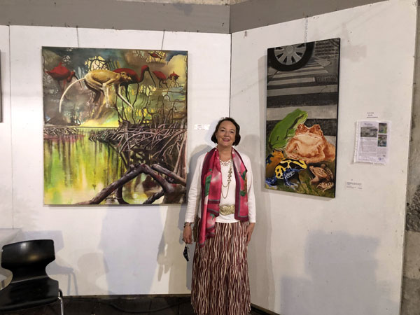 Exposition 2021 du Groupe Artistique de la Haute-Auvergne de Saint-Flour